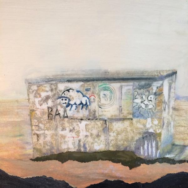 Grafitti hut at Dungeness