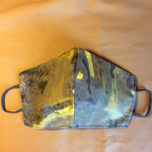 vintage cotton fabric mask
