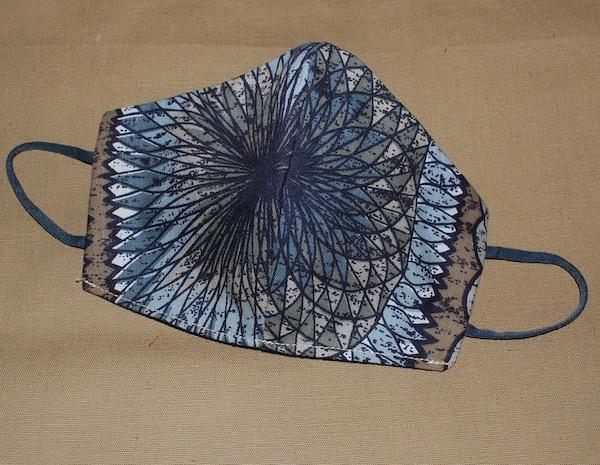 1970s fabric mask giro