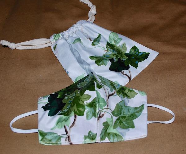 Ivy mask and bag