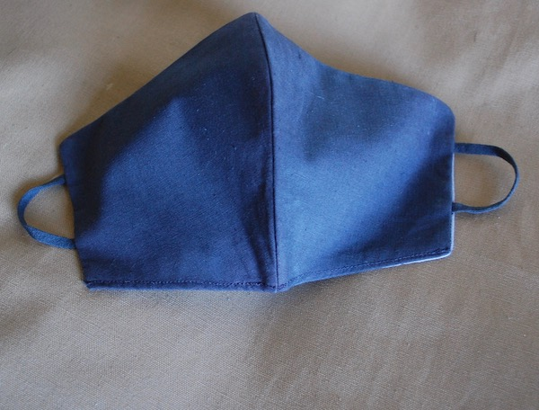 French cotton facemask